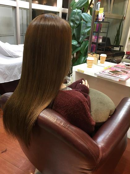ミントベージュ✿秋カラー hair  & spa an contour所属・足立依世のスタイル