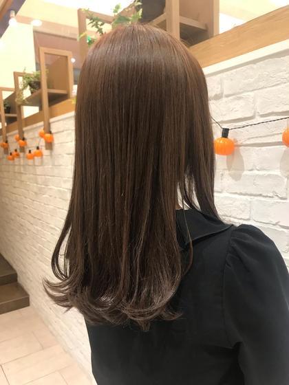 カラー+トリートメント 白髪染め🆗