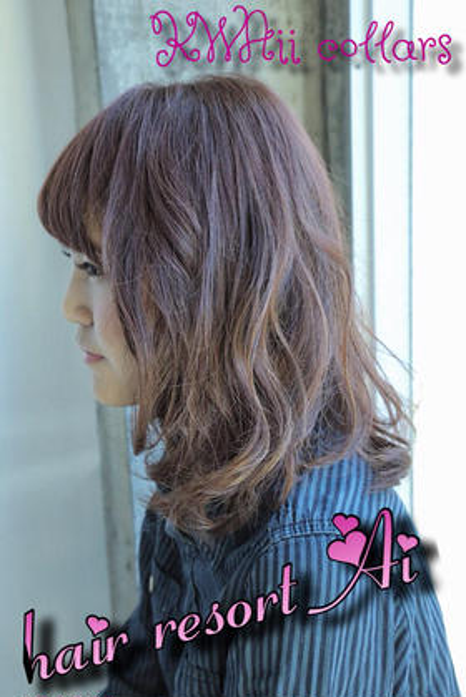 hairresortAi新宿西口店所属・白澤知亜美のスタイル
