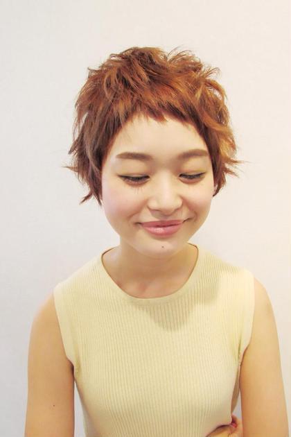ぴょんぴょんショート♡  ショートなのに女の子らしさ満載(≧∇≦) DAISY所属・RIMIKのスタイル