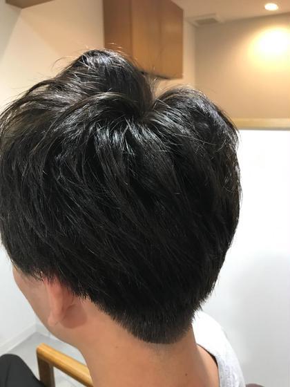 メンズ トップにパーマ☆スタイリング楽チン!