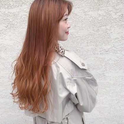 💎個性派、韓国風💎似合わせ小顔cut + 全頭ブリーチ1回ダブルカラー + Reオリジナル色持ちトリートメント