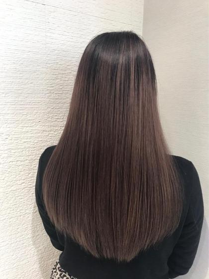 ✔️【ボリューム軽減&艶を出したい方】?ナチュラル縮毛矯正 & 髪質改善トリートメント?