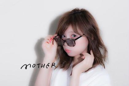 外ハネからストレートまでセットができるミディアムボブ👩 Mother所属・ノグチヒロキ/トップデザイナーのスタイル
