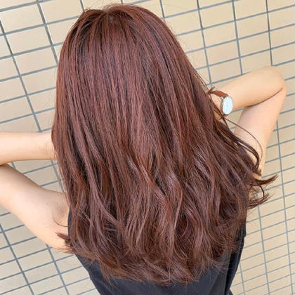 ❤️8月限定価格❤️✨前髪カット➕透明感カラー➕髪質改善トリートメント✨