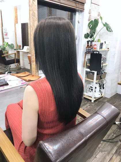 ✨コスメ縮毛矯正+カット✨