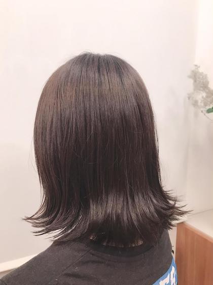 🌟艶髪カラー &Aujuaトリートメント🌟 #アオハル ※長さ料金あり。
