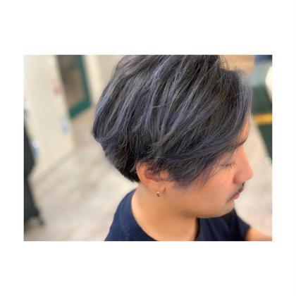 美容師神谷さん「ショートバレイヤージュ」 irobyMIIA所属・前田健太のスタイル