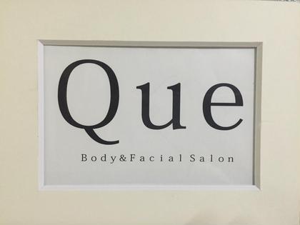 お店のロゴ♪ Que[クウ]所属・福島区のサロンQue [クウ]のフォト