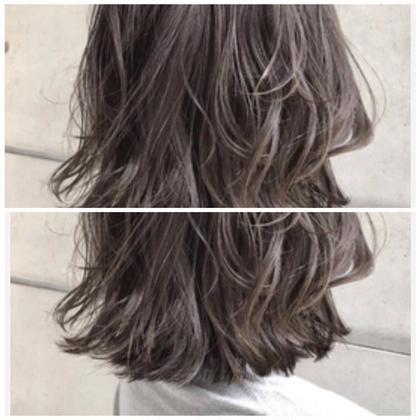 🌟前髪カット+外国人風カラー