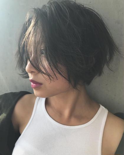 akari♡のショートのヘアスタイル