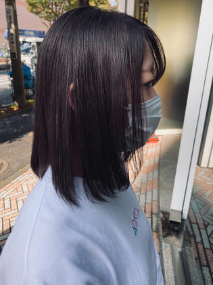 🦋暗黒カラー🦋【就活➕校則🙆♀️ただの黒髪じゃないモテ髪へ🖤】