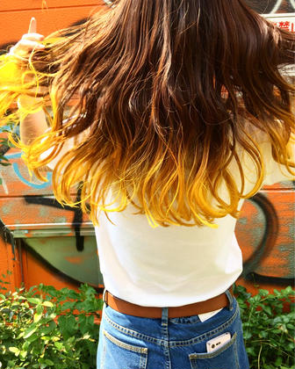 その他 カラー キッズ ネイル パーマ ヘアアレンジ マツエク・マツパ メンズ ロング マニックパニックエレクトリックバナナ
