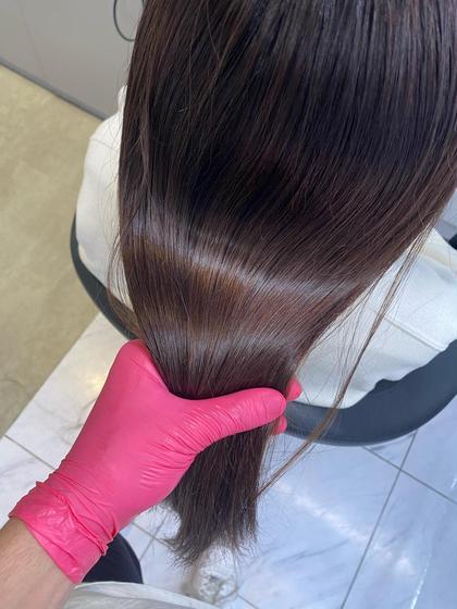 【先着2名様限定】フルカラー+髪質改善トリートメント(酸熱トリートメント)