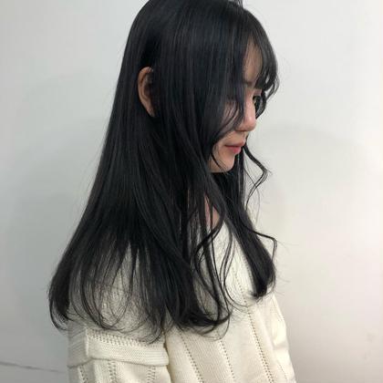 カット & 縮毛矯正 & 内部補修トリートメント