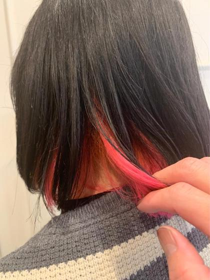 グレー×ピンク izumi
