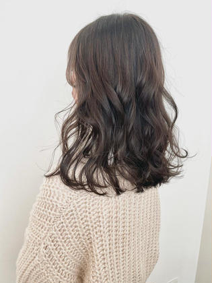 ♡新規様のみ♡当日限定クーポン🥣ワンカラーで透明感たっぷりカラー🥣前髪カット付