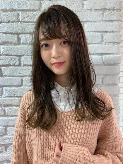 【✨🦄あっという間に可愛く変身🌈】前髪カット&前髪パーマ&集中補修トリートメント❤️❤️