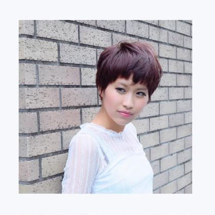 髪の毛を一番艶っぽく仕上げてくれる深みのあるヴァイオレットカラー。色落ちまでも楽しめるカラーです☆ So-All所属・タナカマミのスタイル