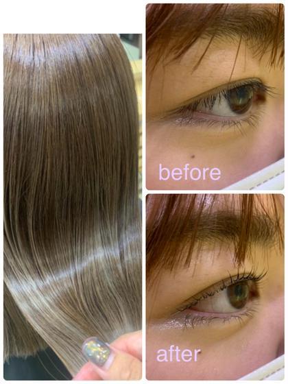 🌈1万円以内の同時メニュー🌈 パリジェンヌラッシュリフト × 髪質改善トリートメント💡 トータルで綺麗に👼💗