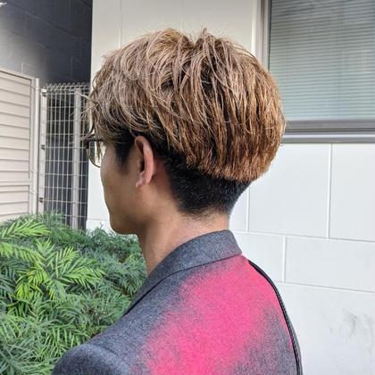 コラ-ゲンパ-マ+カット+ガラストリ-トメント¥1100