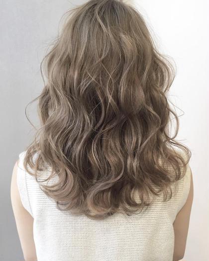 🎵今月限定🌟🌟髪再生イルミナカラーorアディクシーカラー&3stepトリートメント🎵グレージュ