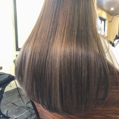 【極上の艶髪へ❣️】似合わせカット & イルミナorアディクシーカラー  & 最高級oggi ottoトリートメント