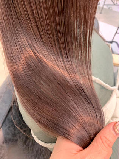 大人気❣️premium wcolor+髪質改善treatment【care bleach+1000円】
