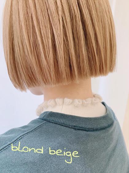🌈❤️💜カット➕ブリーチ➕ダメージレスカラー➕髪質トリートメント➕バングカット➕ブロー料金込み❤️💜