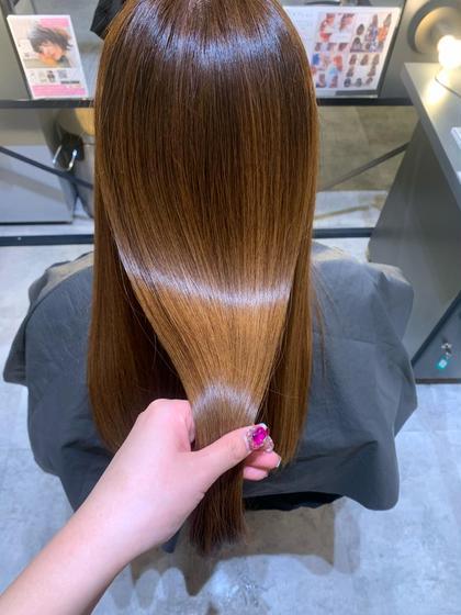 【美髪ケアset⭐︎】[毛髪強化]ケラチントリートメント+美髪カラー+カット