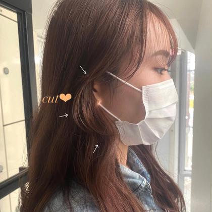 【大人気】❤︎前髪カット❤︎顔まわりのうぶ毛カット💕コテ巻/簡単なヘアアレンジ付き!🤎