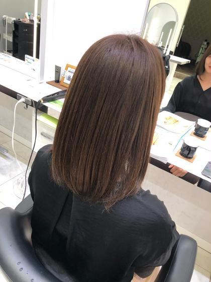 💆♀️今だけ、自社製品の夏の紫外線から髪を守るホームケア付き❣️カット&ヘアカラー & 前処理トリートメント