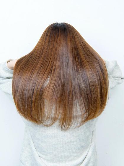 【✨美髪髪質改善プラン✨】酸熱トリートメント+うる艶カラー