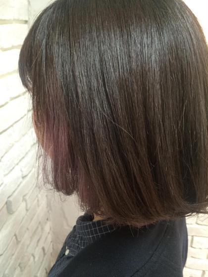 インナーカラー agir hair所属・江幡渉のスタイル