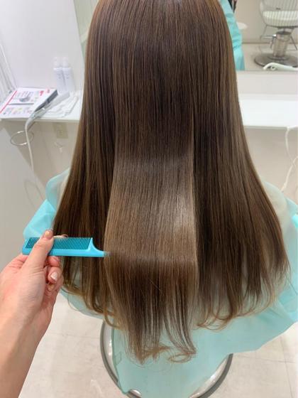 韓国人の様なツヤ髪に👩🏻✨髪質改善酸熱トリートメント【資生堂サブリミック🧴】+似合わせ前髪カット✂︎SB込み