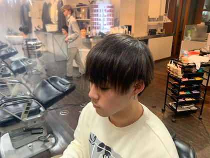 ⚡️期間限定⚡️前髪のみの縮毛矯正強制