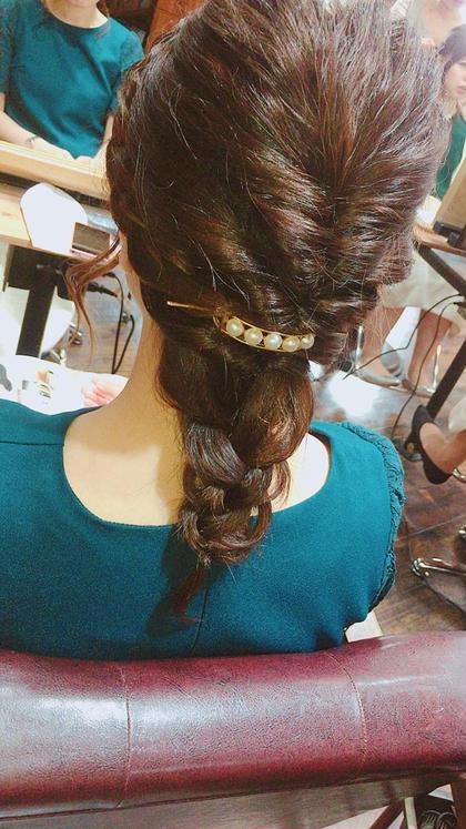 少し短い髪でもヘアセット可能です! FUNIC所属・FUNICHIKARIのスタイル