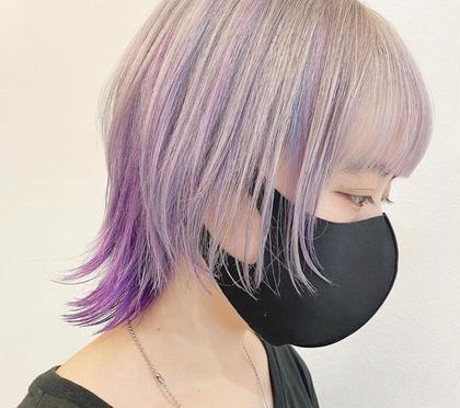 cut + w color + oggiotto treatment
