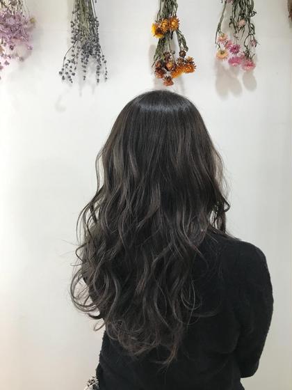 ❣️予約殺到大人気❣️✨極細ハイライト外国人風カラー+毛髪補修トリートメント✨