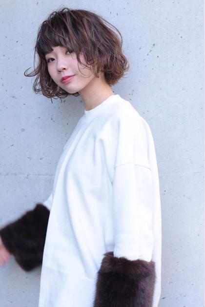 ♡ラフなアンニュイbob♡ Ash 渋谷所属・石川百有のスタイル