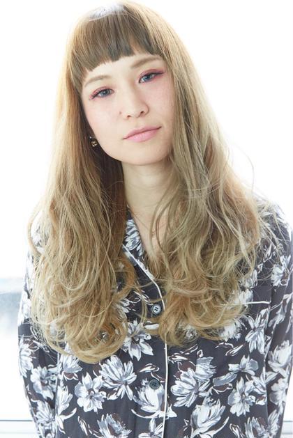 透明感グラデーションカラー☆ ハイトーンカラーもトリートメントで潤いを★ R-EVOLUT hair 柏所属・ホシノショウタのスタイル