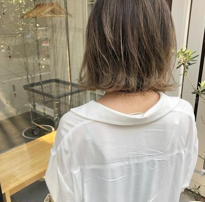 ✅【全員】カット&透明感カラー &トリートメント