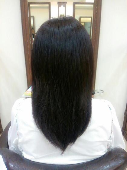 明るすぎない落ちついた髪色✨ PROGRESS国分寺店所属・古川紗也のスタイル