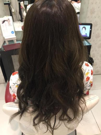 元々ブリーチが綺麗に入っていたので綺麗な仕上がりになりました! HAIR&MAKE EARtH長崎浜町店所属・カラーリスト田川響平のスタイル