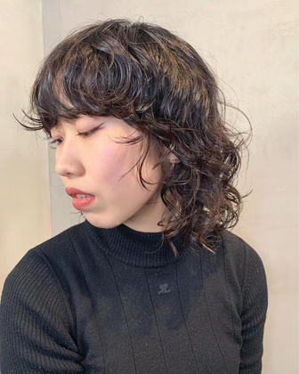 ✂︎【2回目以降】 カット+コスメパーマ+トリートメント