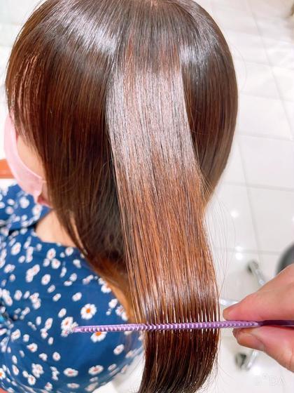 10月限定5名♡髪質改善酸性プレミアムストレート♡