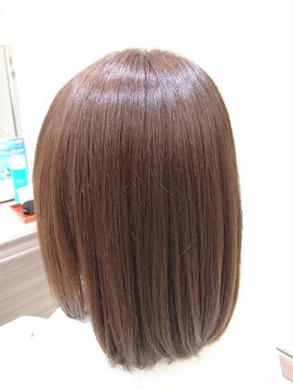 ✔【人気No.1】髪を綺麗にしたい方にオススメ✨カット+サラサラ3STEP トリートメント+コテ巻きヘアセット