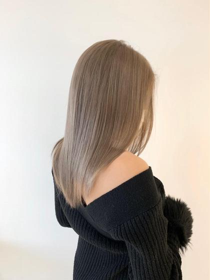 🍀1日1人限定🍀髪質改善イルミナカラー&5ステップトリートメント&贅沢ヘッドスパ💕(ロング料金なし)