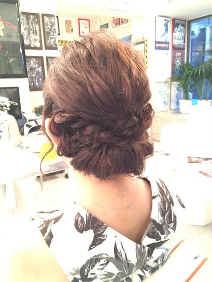 ヘアセット Hair   ALES所属・新井朋典のスタイル