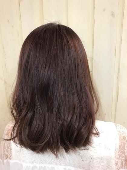 イルミナカラー 外国人風カラー トワイライト✖︎ヌード hair&spa   an  contour所属・石原ナナのスタイル